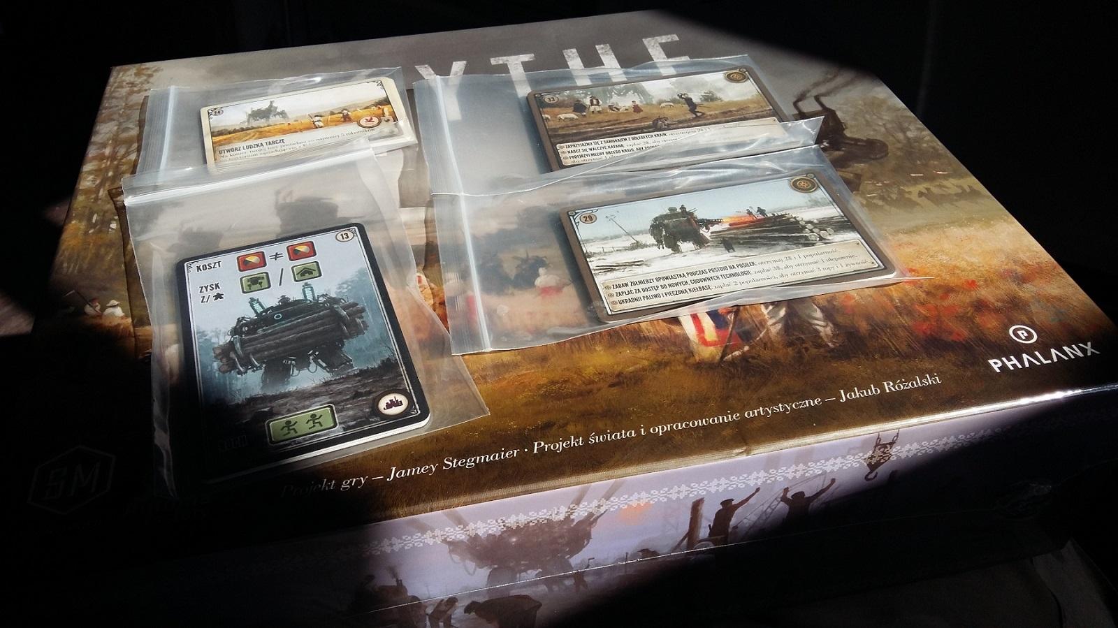 Scythe: karty promocyjne Kickstarter (wersja polska)