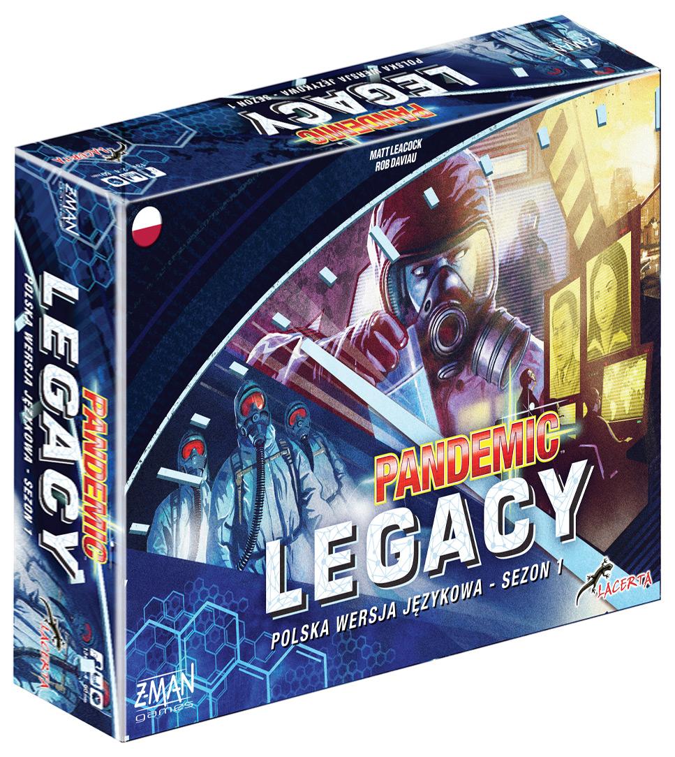 Pandemic Legacy (Pandemia) - sezon 1 Edycja Niebieska