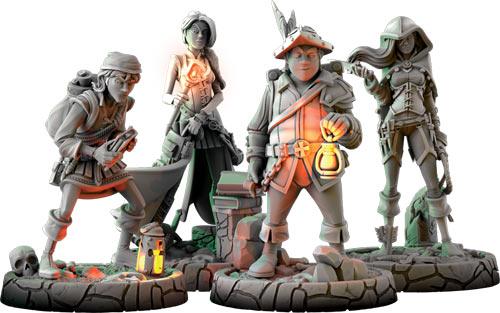 Stworologia - postacie graczy