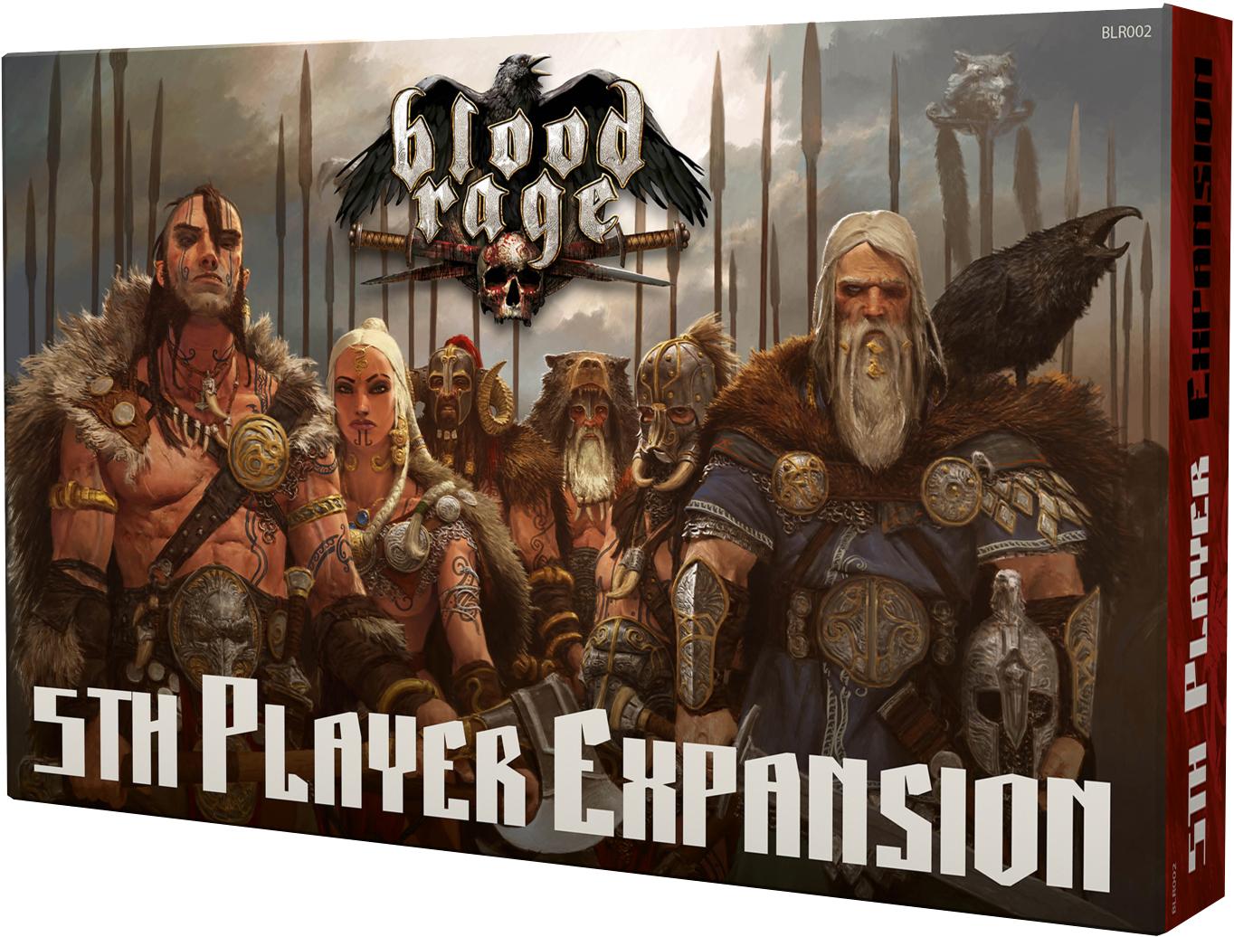 Blood Rage: 5 gracz - Rozszerzenie do gry