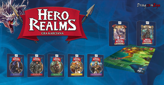 Hero Realms - Pakiet Bossowie i Bohaterowie mata gratis