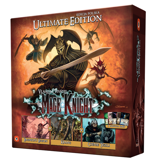 Mage Knight Ultimate Edition PL