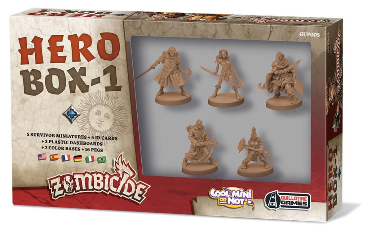 Zombicide: Hero Box 1 (wersja polska)