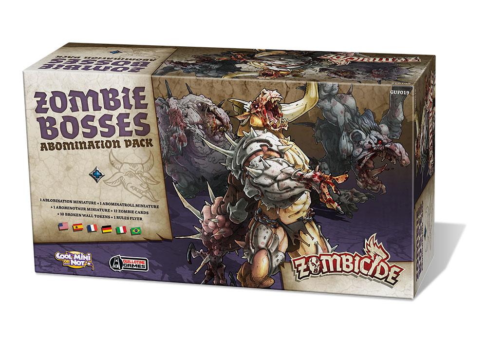 Zombicide: Zombie Bosses Abomination Pack (wersja polska)