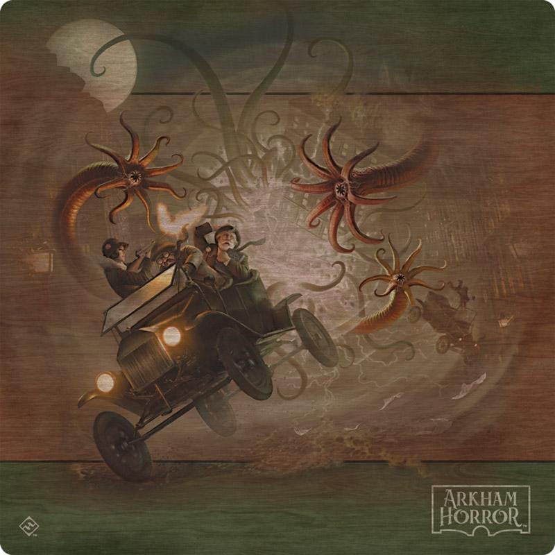 Horror w Arkham - trzecia edycja. Mata do gry.