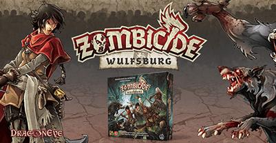 Zombicide: Czarna Plaga - dodatek Wulfsburg