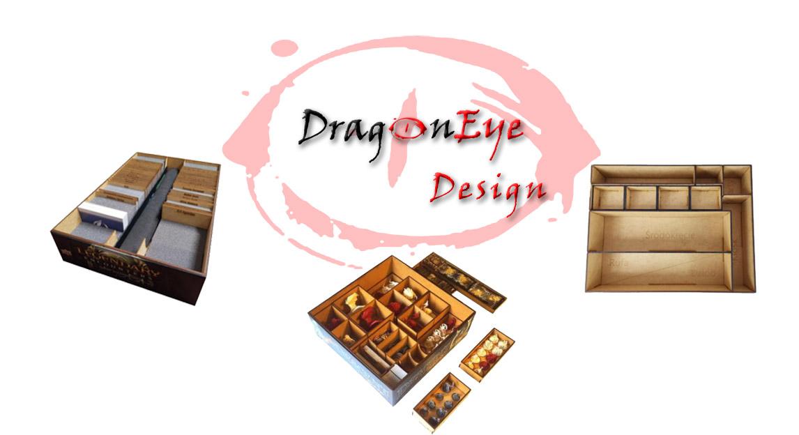 DragonEye Design - inserty do gier planszowych