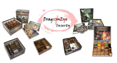 Inserty oraz organizery do gier planszowych i karcianych