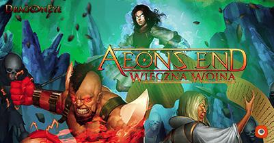 Aeon's End: Wieczna Wojna - samodzielna gra karciana