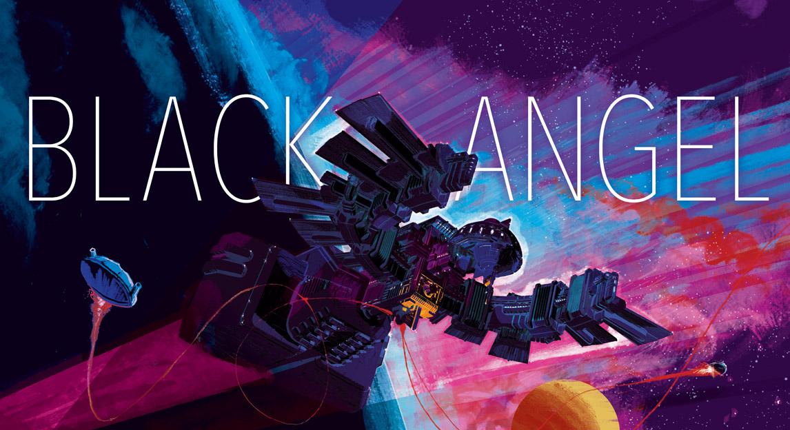 Black Angel - gra planszowa - edycja polska