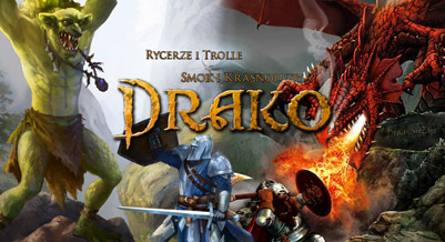 Drako: Trolle i Rycerze - gra planszowa