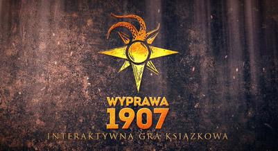 Dziennik - Wyprawa 1907 - gra książkowa