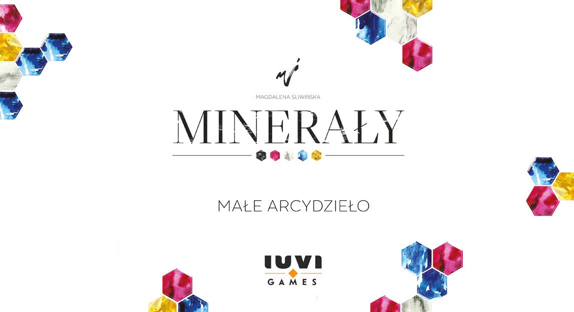 Minerały - gra planszowa