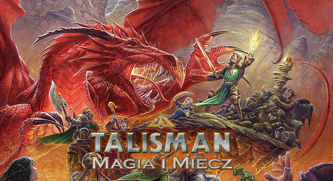 Talisman: Magia i Miecz - gra planszowa