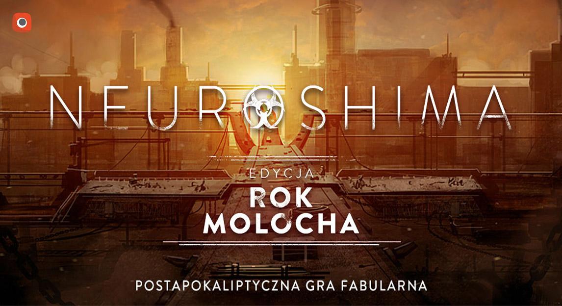 Neuroshima: Rok Molocha - gra fabularna - limitowana edycja specjalna