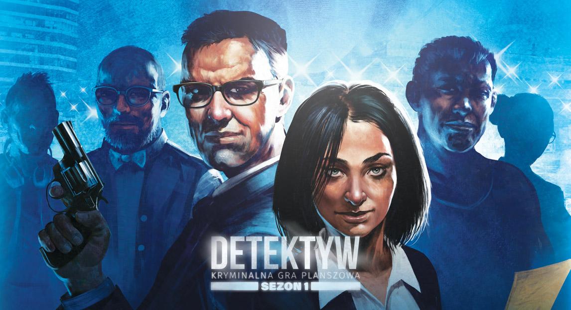 Detektyw: Sezon 1 - gra planszowa