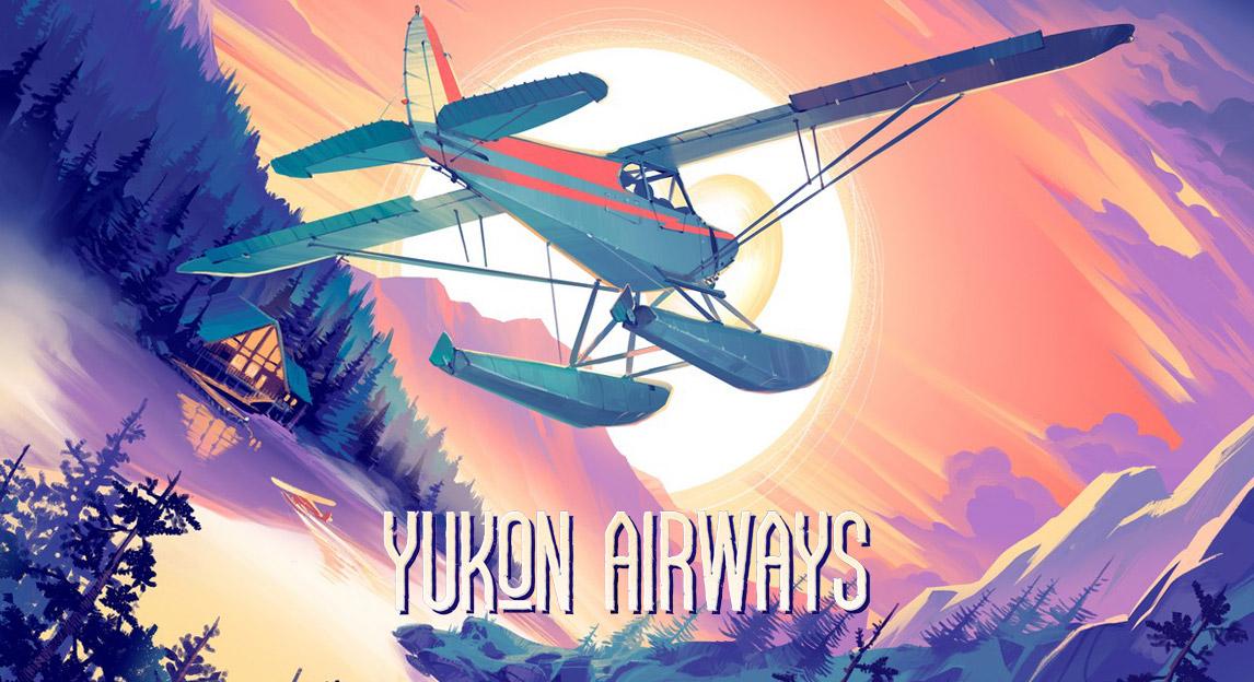 Yukon Airways - gra planszowa