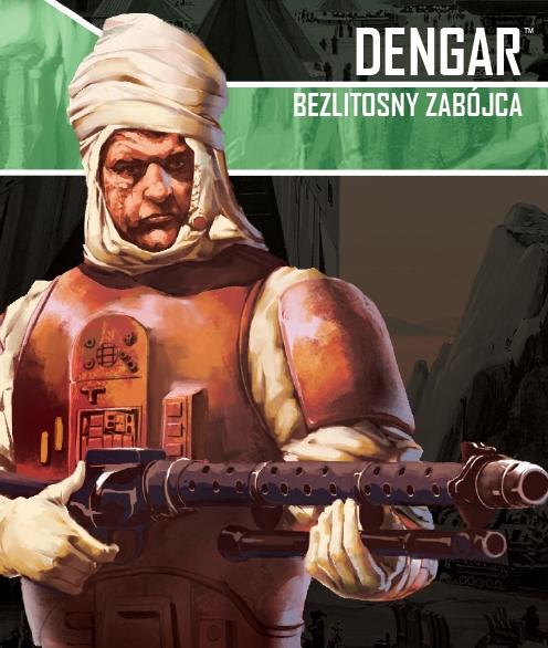 Star Wars: Imperium Atakuje - Dengar, Bezlitosny zabójca (zestaw przeciwnika)