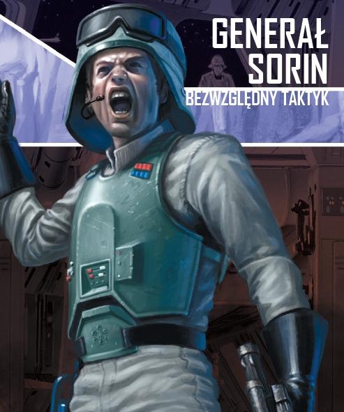 Star Wars: Imperium Atakuje - Generał Sorin (zestaw przeciwnika)