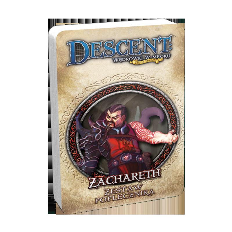 Descent: Wędrówki w mroku (2 edycja) - Zachareth (Talia poplecznika DnŻ)