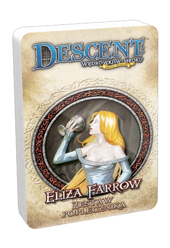 Descent: Wędrówki w mroku (2 edycja) - Eliza Farrow (Talia poplecznika DnŻ)