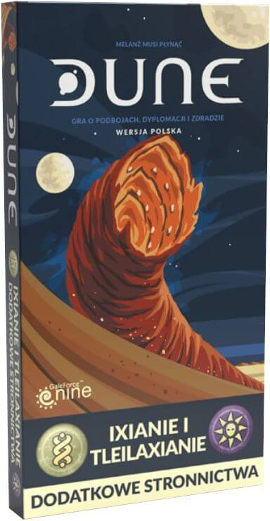 Dune: Ixianie i Tleilaxianie - Dodatkowe stronnictwa (PL)