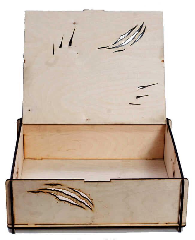 Duże Pudełko Storage - Claws