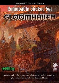 Gloomhaven - Removable Sticker Set (ENG)
