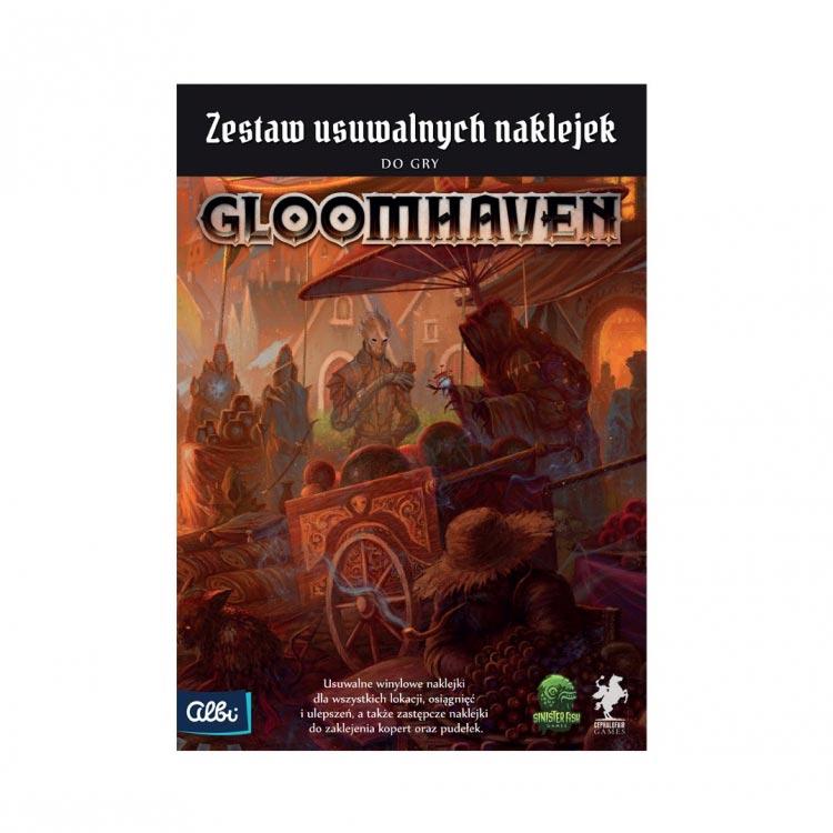 Gloomhaven - Usuwalne naklejki (PL)