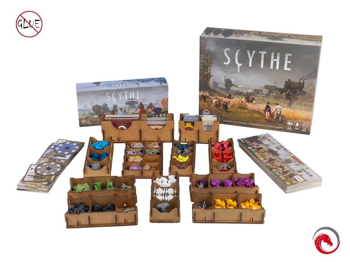 Insert do gry Scythe + Najeźdzcy z dalekich krain