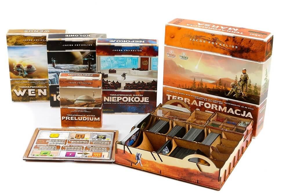 Insert do gry Terraformacja Marsa + dodatki (e-Raptor)