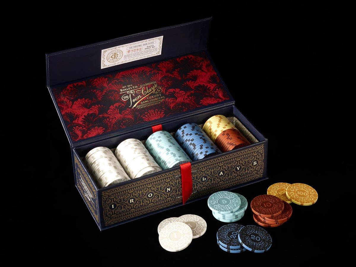 Iron Clays - żetony deluxe to gry Brass (100szt.)