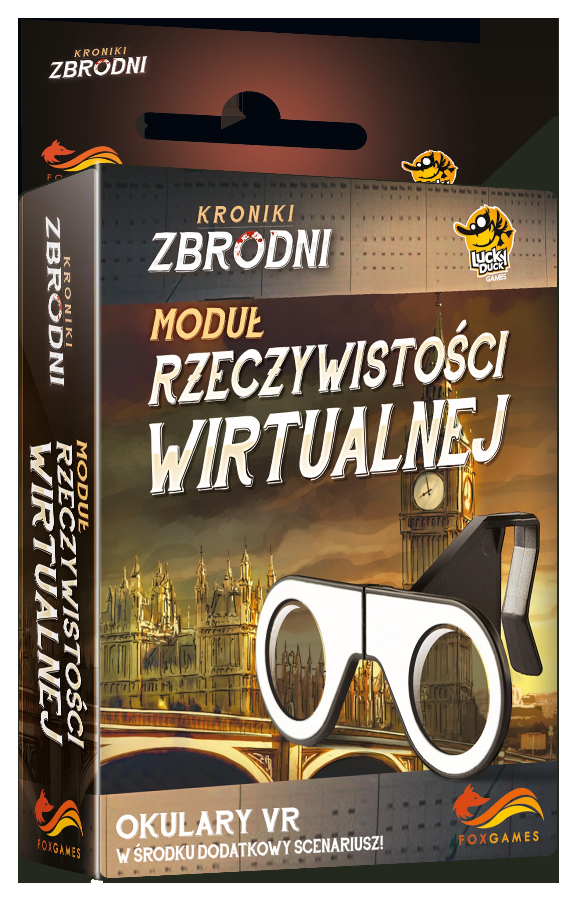 Kroniki Zbrodni. Okulary VR