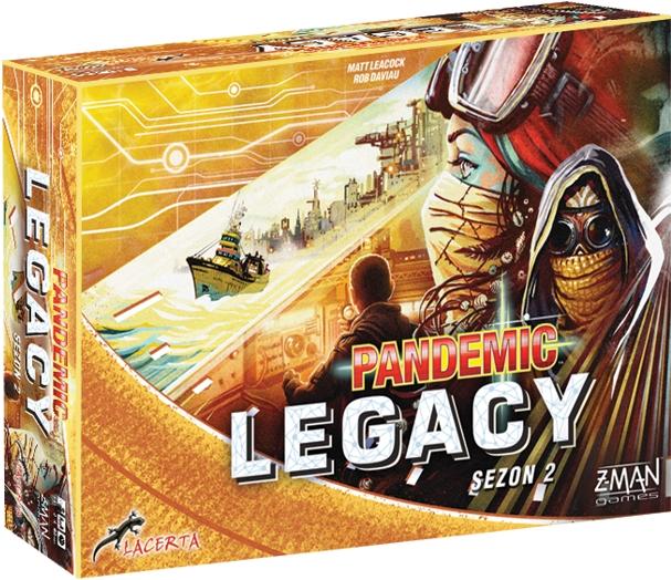 Pandemic Legacy (Pandemia) - sezon 2 Edycja Żółta