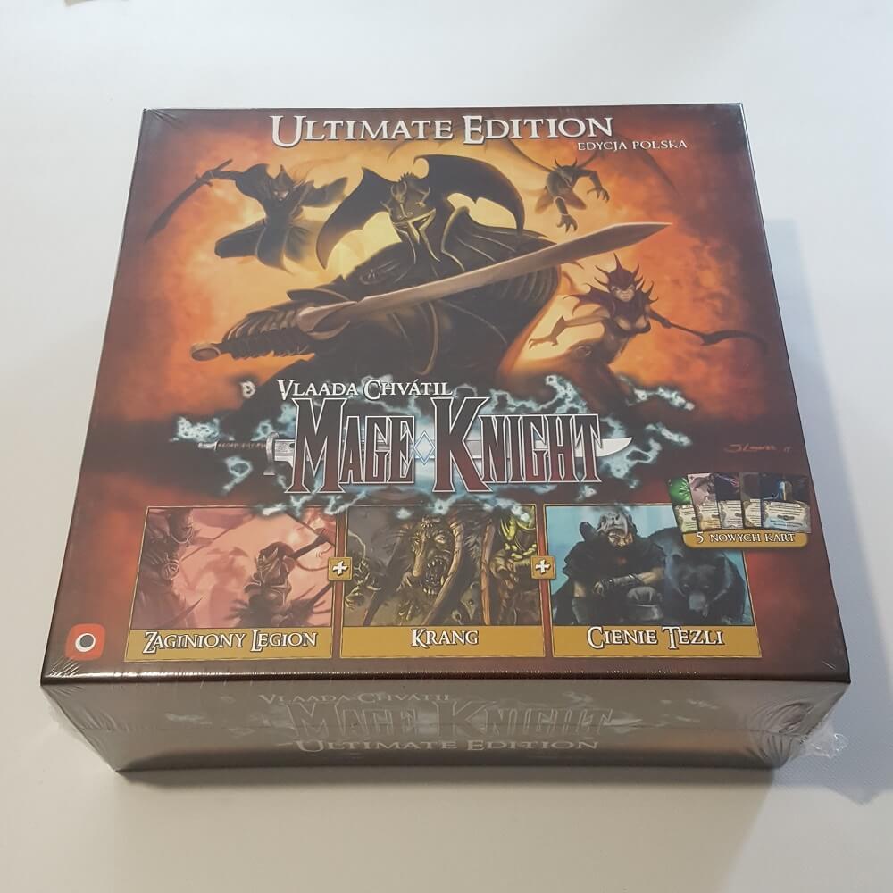 Mage Knight Ultimate Edition PL. - Uszkodzony, zafoliowany 1