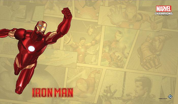 Marvel Champions: The Game Mat - Iron Man