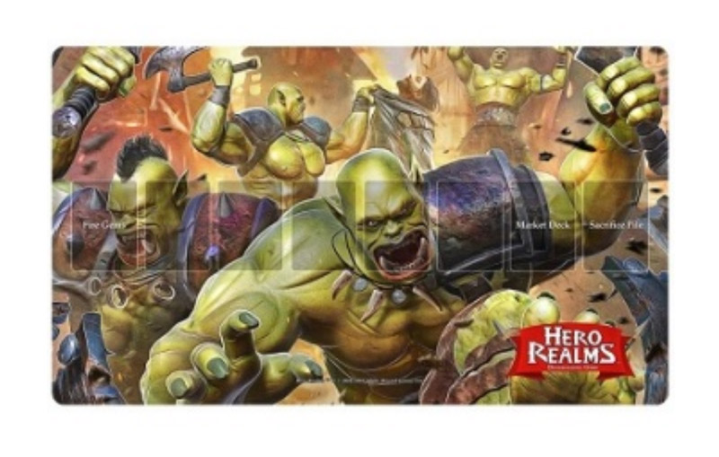 Playmat - Hero Realms Rampage (ENG)