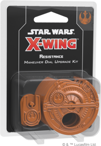 Star Wars: X-Wing - Resistance Maneuver Dial Upgrade Kit (druga edycja)