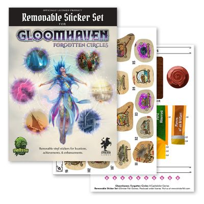 Gloomhaven: Zapomniane Kręgi - Removable Stickers Set (ENG)