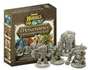 Heroes of Land, Air & Sea: Mercenary Pack 1 (ENG)