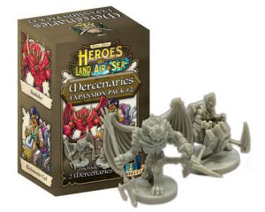 Heroes of Land, Air & Sea: Mercenary Pack 2 (ENG)