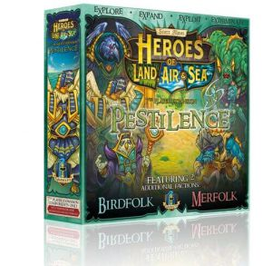 Heroes of Land, Air & Sea: Pestilence Expansion (ENG)