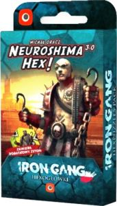 Neuroshima hex 3.0 - Iron Gang Hexogłówki
