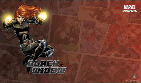 Marvel Champions: The Game Mat - Black Widow