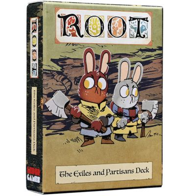 Root: Exiles and Partisans Deck (ENG)