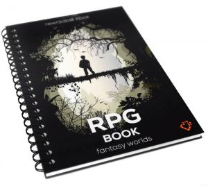 RPG Book - Fantasy Worlds - Format A4
