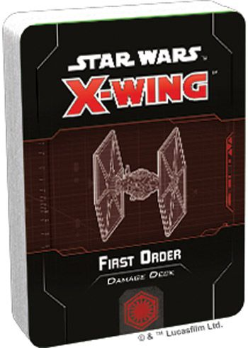 X-Wing 2nd ed.: First Order Damage Deck (ENG)