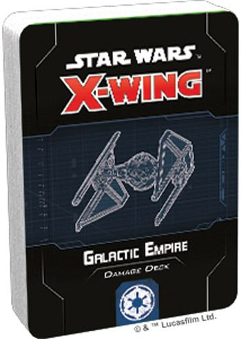 X-Wing 2nd ed.: Galactic Empire Damage Deck (ENG)