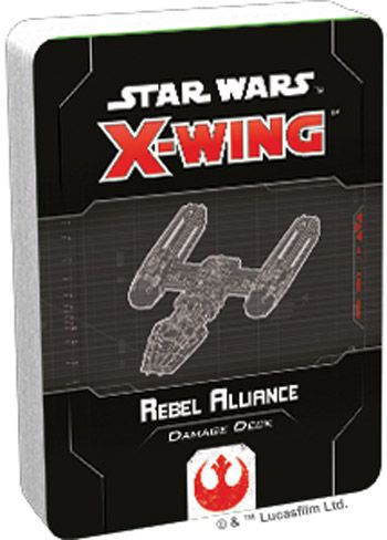 X-Wing 2nd ed.: Rebel Alliance Damage Deck (ENG)