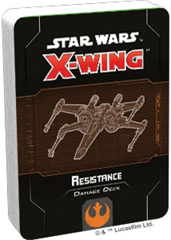 X-Wing 2nd ed.: Resistance Damage Deck